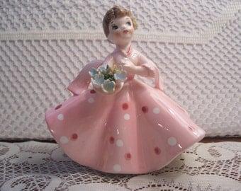 Lefton Debutante Little Girl Figurine, Japan