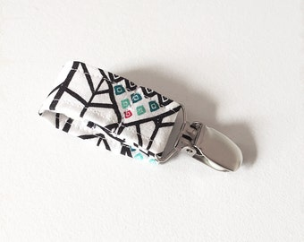 Pacifier Holders, Pacifier Clips, Paci Holders, Paci Clips - Abstract Party Tether