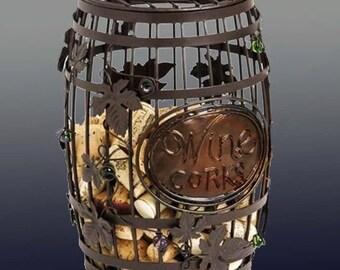 Whimsical Wine Cork Holder