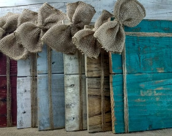 Rustic twine frame, Rustic picture holder, pallet board frame, photo prop, burlap bow frame, twine frame, rustic picture frame, burlap bow