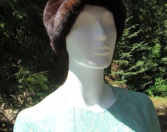 1960s Mink Cap