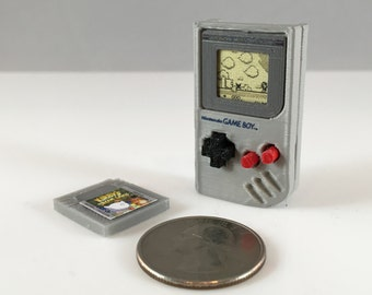 Mini Nintendo Game Boy Classic - 3D Printed!