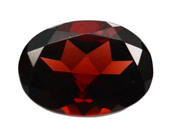 8x10 mm Natural Red Garnet Oval Faceted  AAA Quality gemstone.....