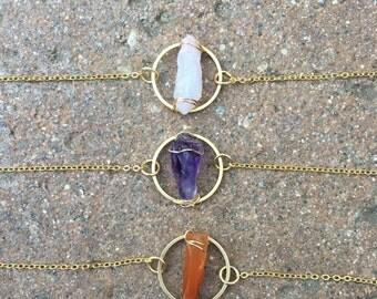 Crystal Bracelet, Circle Bracelet