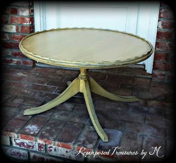 Shabby Chic Coffee Table Nz: Shabby Chic Coffee Table Vintage Coffee Table By RepurposedbyM