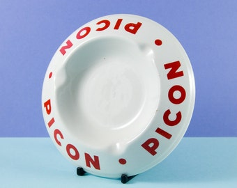 Vintage French Ceramic Ashtray advertising Picon Bitters