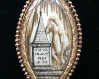 Unique Mourning 1781 Pin
