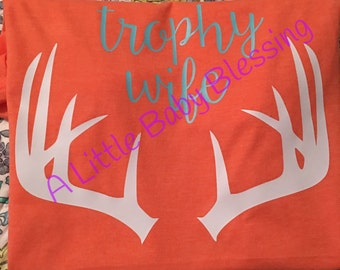 Trophy wife vinyl burnout orange