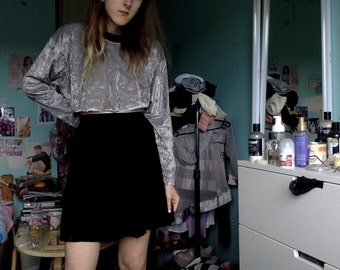 60s school girl tennis pleated vintage skirt