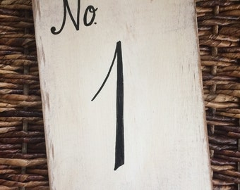 Wedding signs, Wedding decor, Wedding table numbers, wood table numbers, rustic wood table numbers