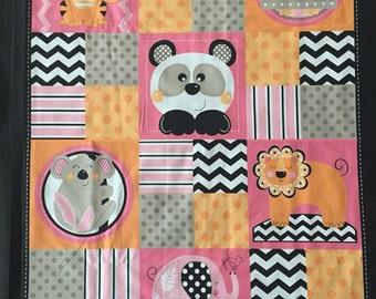 Panda Fabric Panel Etsy