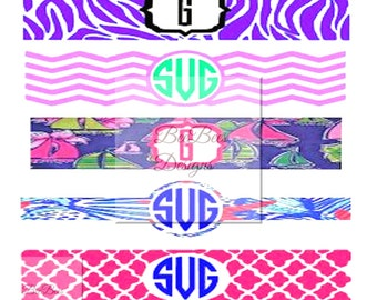 Preppy Iphone Charger Template, Ipad Charger Template, Ipad charger svg, font included
