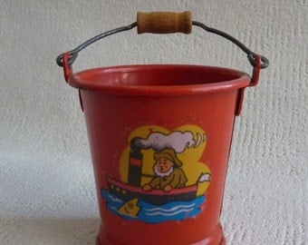 Vintage of old bucket doll Germany 1950