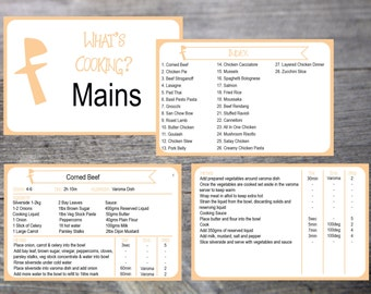 Editable Thermo Recipe Card 4x6