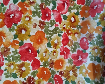 P Kaufman - Shi Shi - Floral - Poppy - Fabric by the Yard - Morningstars