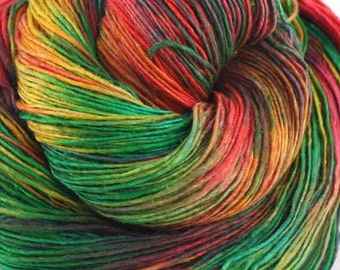Lace weight silk yarn