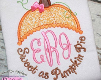 Fall Monogram Shirt
