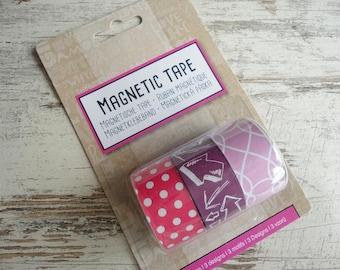 "Magnetic tape set ""arrow"""