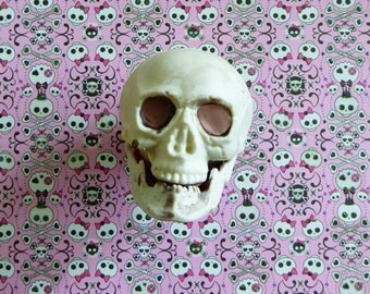 Skull 3D Halloween Silicone Mold Cake Tool Fondant Chocolate Candy Cake Topper Polymer Clay DIY Craft