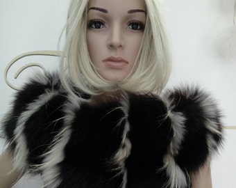 New!!!Natural Real Fur Fox collar!
