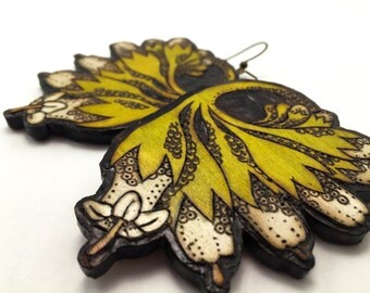 Comfrey Flower Earrings - Lightweight & Ecofriendly
