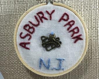 Asbury Park Octopus Ornament