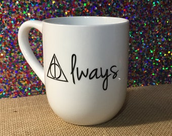 "Harry Potter ""always"" coffee mug"