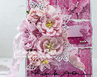 Shabby Chic Thank You Card