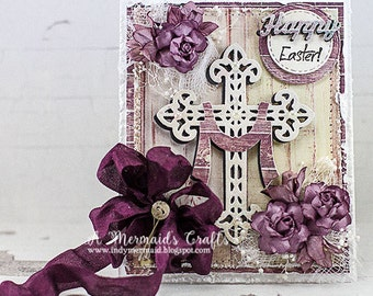 Shabby Chic Happy Easter Card