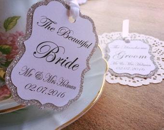 Stunning wedding place cards thank you for joining us x40 tags