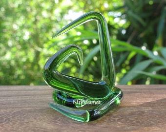 "Translucent Green Triangle Spirals 10g 8g 6g 4g 2g 0g 00g 7/16"" 1/2"" 9/16"" 5/8""  2.5 mm 3 mm 4 mm 5 mm 6 mm 8 mm 10 mm 12 mm 14 mm 16 mm"