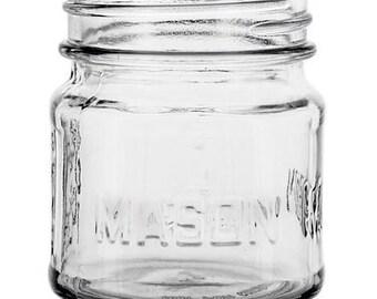 48 8oz Mason Glass Jars