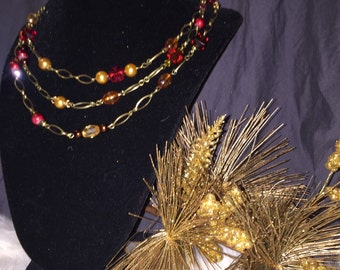 Changes of Autumn Necklace