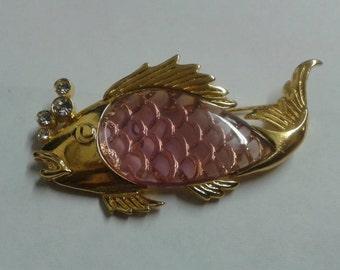 Vintage Fish Pin.