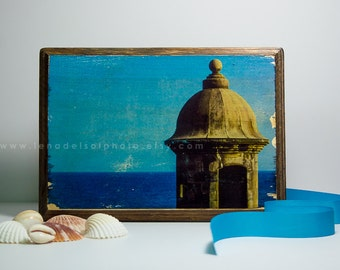 Puerto rico art print acrylic painting print wall decor for Puerto rico home decorations