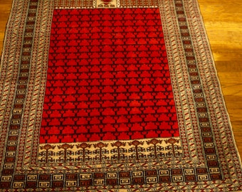 Turkish Hand Knotted Rug 6x4