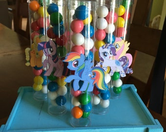 My Little Pony candy favor tubes-set of 12