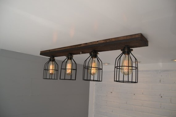 Flush Mount Wood Light Wood Ceiling Light By Unionhilltradeco