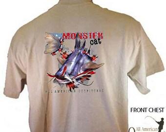 Catfish Fishing Monster Cats Breakthrough Sportsman Sport T-Shirt