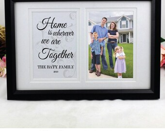 Personalised Family Typography Frame