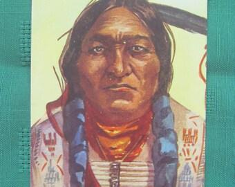 Vintage Postcard- Chief Sitting Bull