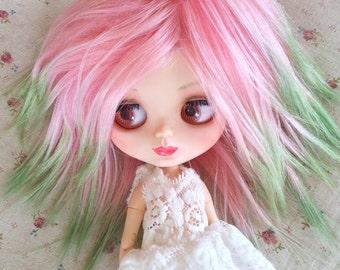 Custom made BJD mohair wig Blythe doll mohair wig BJD mohair wig SD mohair wig Blythe doll outfit Blythe doll wig