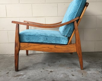 Mid Century Modern lounge chair – made in Yugoslavia – Mad Men era