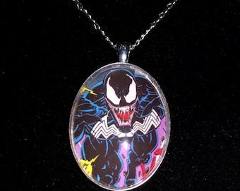 Marvel Spider-Man Venom Large Pendant