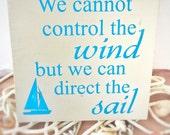 Nautical home decor - wooden sign - sailing saying sign - sailboat wall art - nautical wall art - sailor gift - sailing decor - dad gift