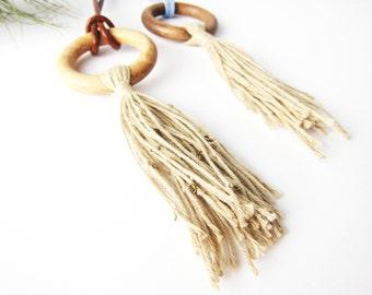 """Tassel necklace """"Aros"""""""