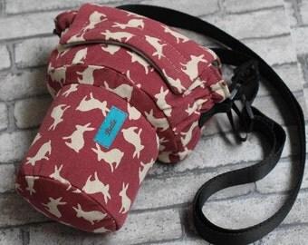 DSLR camera bag Custom name digital camera backpack carry On Bag Rabbit DSLR camera case SLR camera bag