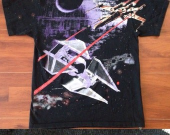 Vintage 90's Star Wars Shirt - Made in the USA - 100% Cotton