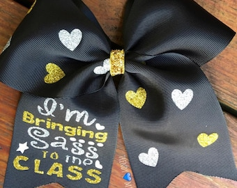 Sass to class bow