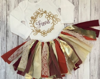Thanksgiving Outfit // Baby Girl Thanksgiving Outfit //   Girl Thanksgiving Outfit // Fall Outfit For Girls // Girls Thanksgiving Outfit
